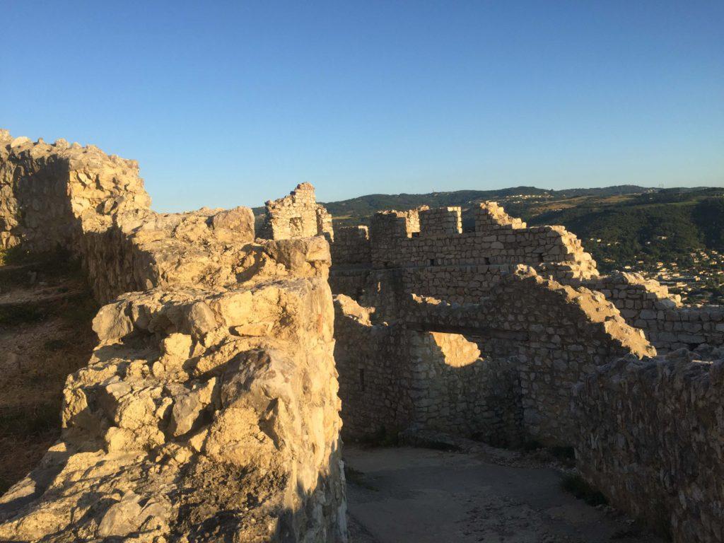 Patrimoine naturel protégé Chateau de crussol